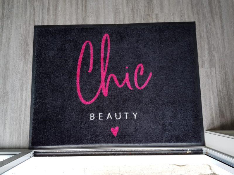 Carpet top logo mat